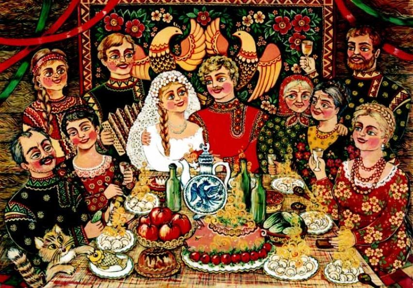Алкогольные традиции на Руси (история обычаев)